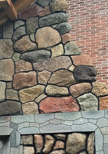 Baltic boulder path