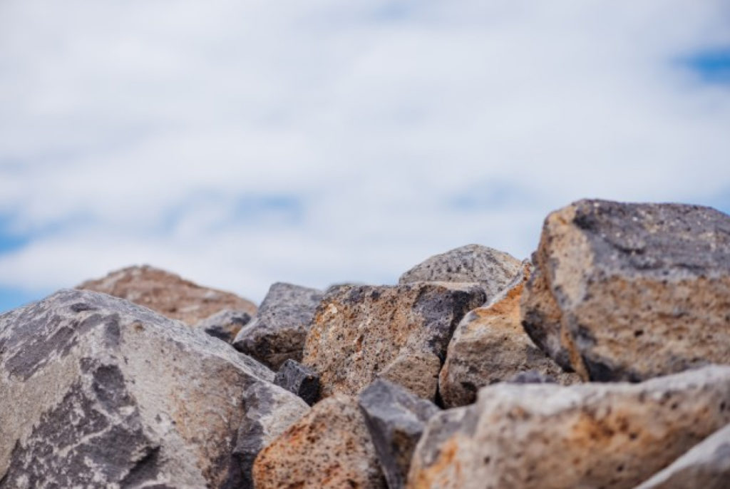 Baltic (Scandinavian) boulder