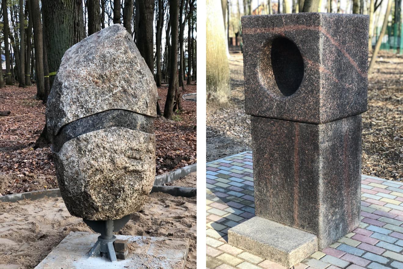 Нестандартные изделия из цельного камня под заказ